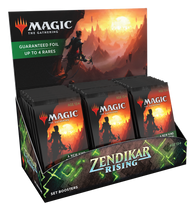 Magic the Gathering CCG: Zendikar Rising Set Booster Box