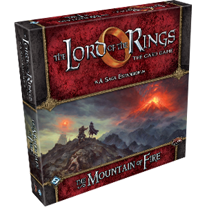 Lord of the Rings LCG: The Mountain of Fire Expansion