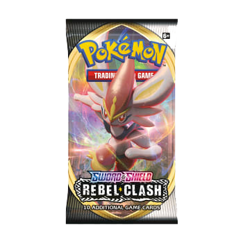 Pokemon TCG: Sword & Shield Rebel Clash Booster Pack