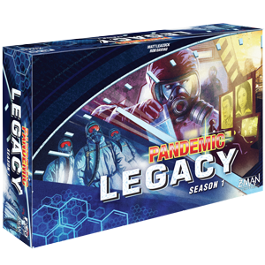Pandemic: Legacy Season 1 - Blue (stand alone)