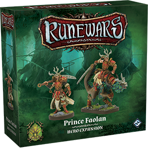 Runewars: The Miniatures Game - Prince Faolan Hero Expansion