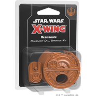 Star Wars X-Wing: 2nd Edition - Resistance Maneuver Dial Upgrade Kit  ** Pre-Order **