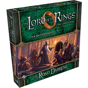 Lord of the Rings LCG: The Road Darkens A Saga Expansion