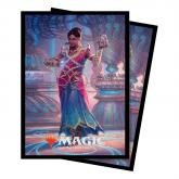 Magic the Gathering: Commander Standard Deck Protectors V4 2018 (100) Saheeli, the Gifted