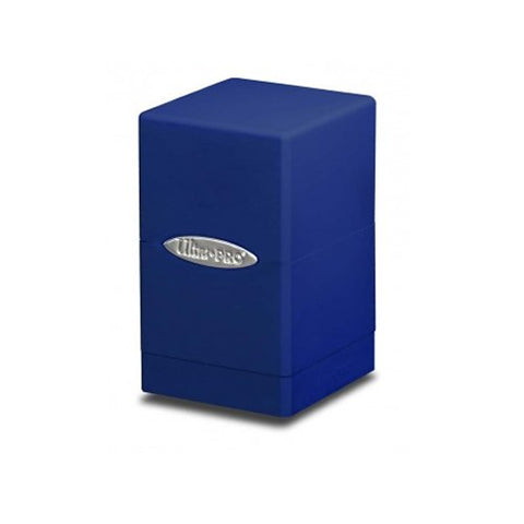 Satin Tower Deck Box: Blue