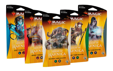 Magic the Gathering CCG: Guilds of Ravnica Theme Booster