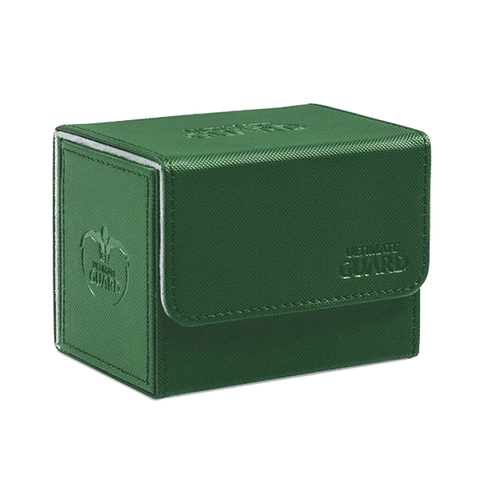 Ultimate Guard Deck Case Sidewinder 80+ Xenoskin Green