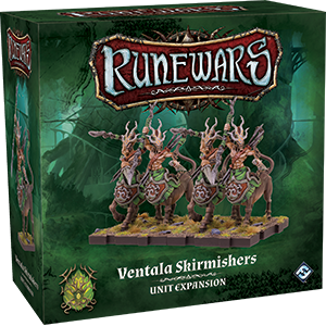Runewars: The Miniatures Game - Ventala Skirmishers Unit Expansion