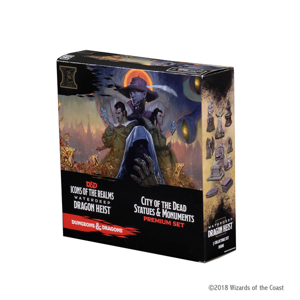 Waterdeep Dragon Heist City of the Dead Statues & Monuments