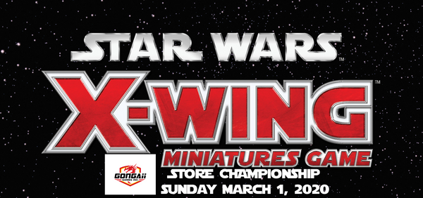 Star Wars X-Wing Store Championship 2020
