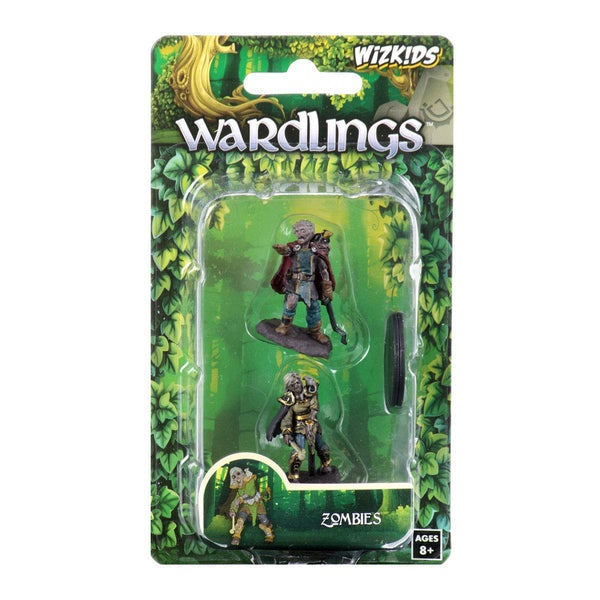 WizKids Wardlings: W3 Zombie (Male & Female)