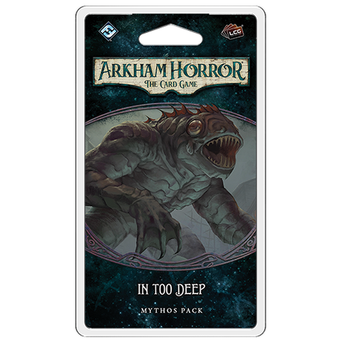Arkham Horror LCG: In Too Deep Mythos Pack