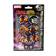 Marvel HeroClix: Avenger Black Panther and the Illuminati Dice and Token Pack