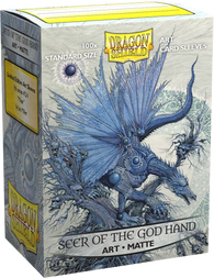 Dragon Shields: (100) Matte Art - Seer of the God Hand