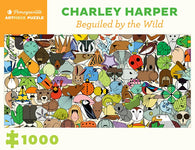 Pomegranate Artpiece Puzzle: 1000 Pieces - Charley Harper: Beguiled by Wild