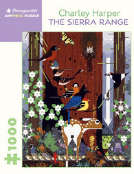 Pomegranate Artpiece Puzzle: 1000 Pieces - Charley Harper: The Sierra Range