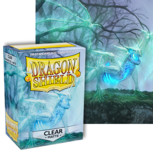 Dragon Shields: (100) Matte Clear