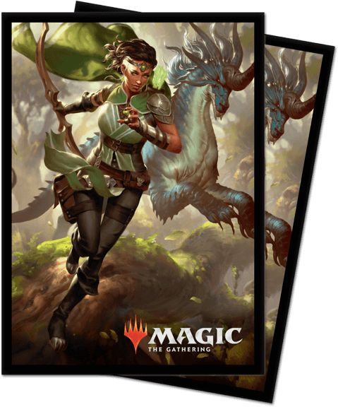 Magic the Gathering: Ikoria Lair of Behemoth Sleeves Vivien (100)
