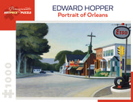 Pomegranate Artpiece Puzzle: 1000 Pieces - Edward Hopper - Portrait of Orleans