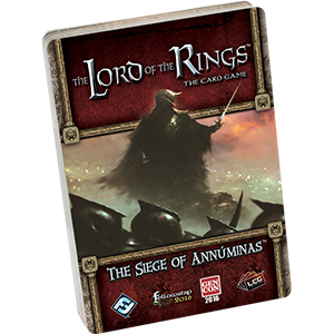Lord of the Rings LCG: The Seige of Annuminas Adventure Pack