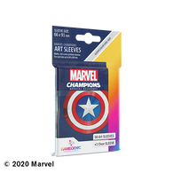 Marvel Champions Art Sleeves - Captain America