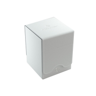Squire 100 Card Convertible Deck Box: White