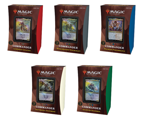 Magic the Gathering CCG: Strixhaven Commander Deck