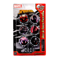 Marvel HeroClix: Spider-Man and Venom Absolute Carnage Dice and Token Pack
