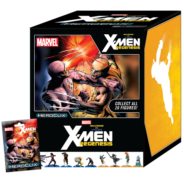 Marvel Heroclix: Wolverine vs. Cyclops - X-Men Regenesis Booster