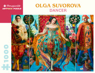 Pomegranate Artpiece Puzzle: 1000 Pieces - Olga Suvorova: Dancer