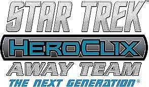 Star Trek HeroClix Away Team: The Next Generation - Resistance is Futile Foil Pack