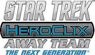 Star Trek HeroClix Away Team: The Next Generation - To Boldly Go Gravity Feed