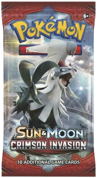 Pokemon TCG: Sun & Moon Crimson Invasion Booster Pack