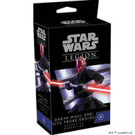 Star Wars: Legion - Darth Maul and Sith Probe Droid Operative