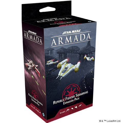 Star Wars Armada: Republic Fighter Squadrons