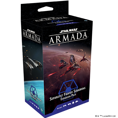 Star Wars Armada: Separatist Fighter Squadrons