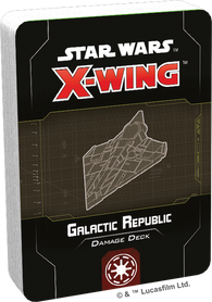 Star Wars: X-Wing 2nd Edition - Galactic Republic Damage Deck