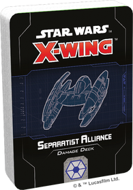 Star Wars: X-Wing 2nd Edition - Separatist Alliance Damage Deck