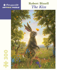 Copy of Pomegranate Artpiece Puzzle: 300 Pieces - Robert Bissell: The Kiss