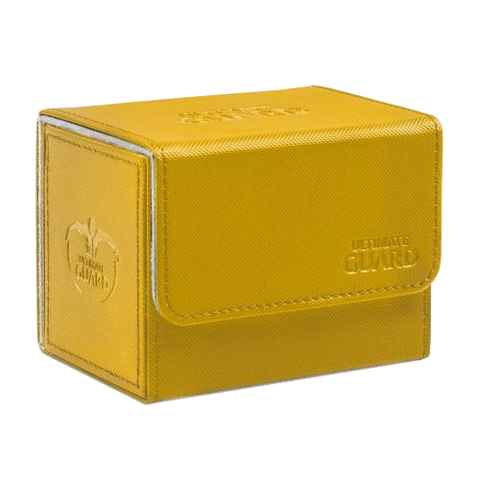 Ultimate Guard Deck Case Sidewinder 80+ Xenoskin Amber