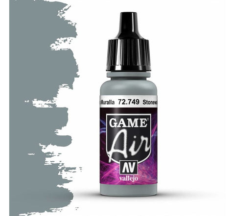 Vallejo Game Air: Stonewall Grey (17ml)