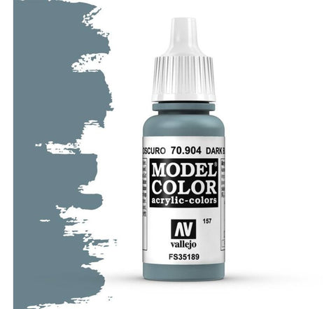 Vallejo Model Color: Dark Blue Grey (17ml)
