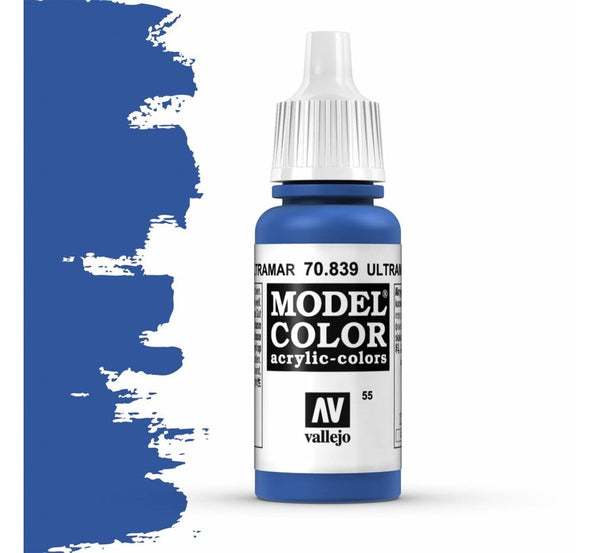 Vajello Model Color: Ultramarine Blue (17ml)