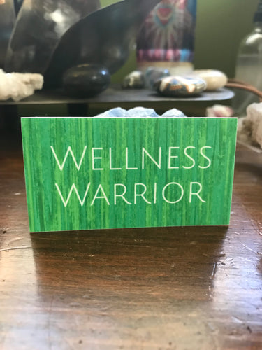 Wellness Warrior Sticker