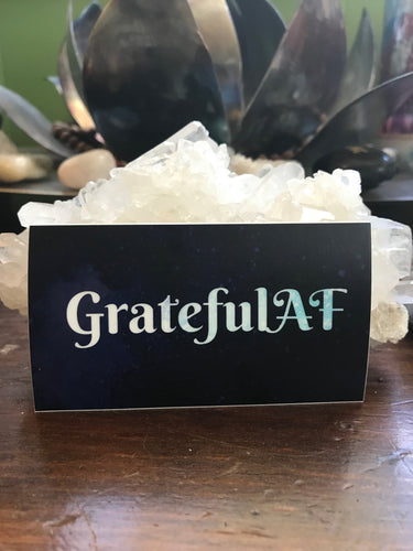 GratefulAF Sticker