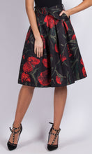 BS1216018TB Full A line Floral Printed Skirt (Pack)