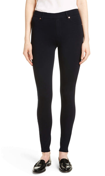 BW24263TB Black Ponte Pants with Metal Rivets (Pack)