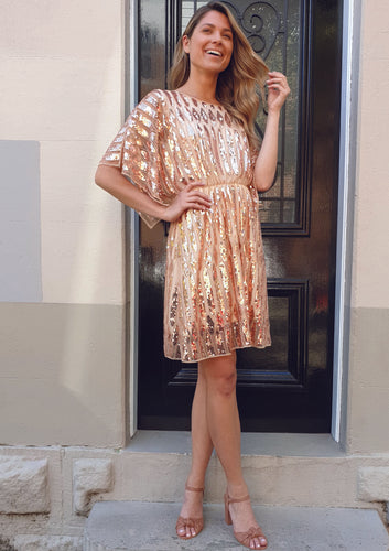 ME-5108SS Sequin Dress (Pack) On Sale