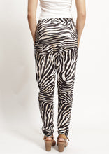 TG0533-72SS Zebra Print  Drop Crotch Pant (Pack) New Arrivals