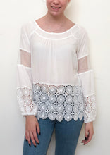 VY0338SS  Crochet Detail Long Sleeve Top (Pack)